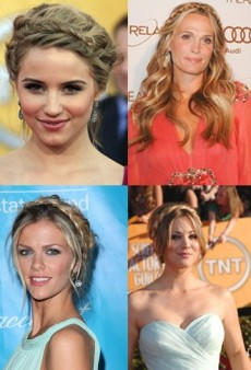 Celebrity Hair Trend: Crown Braids