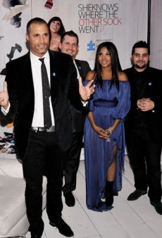 SheKnows.com for Autism Speaks Launch: Nigel Barker, Toni Braxton, and Michael Costello Make Merry