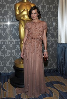 Milla Jovovich Was a Stunner in Elie Saab at the Academy's Sci-Tech Awards (Forum Buzz)
