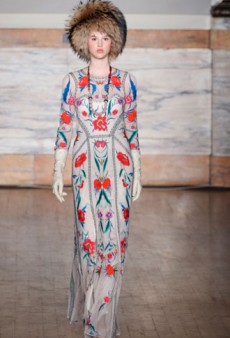Temperley London Fall 2012 Runway Review