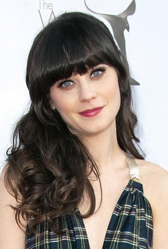 Zooey Deschanel 2012 Writers Guild Awards Los Angeles cropped