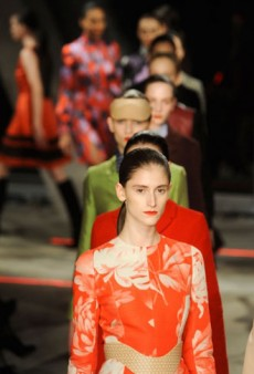 Jonathan Saunders Fall 2012 Runway Review