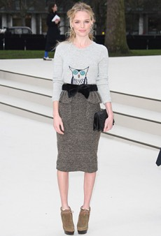 Kate Bosworth's Front Row Look at Burberry Prorsum (Forum Buzz)