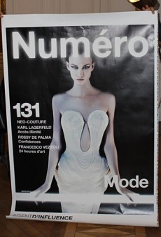 Karlie Kloss by Karl Lagerfeld Covers Numéro's March Issue (Forum Buzz)