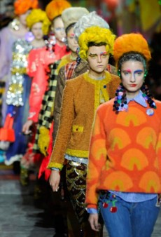 Meadham Kirchhoff Fall 2012 Runway Review