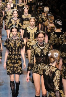 Dolce & Gabbana Fall 2012 Runway Review