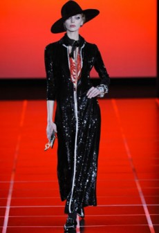 Giorgio Armani Fall 2012 Runway Review