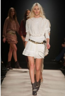 Isabel Marant Fall 2012 Runway Review