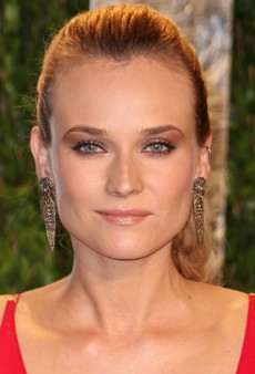 Diane Kruger: Beauty Look of the Week – Bronzed, Rosy Gold Look