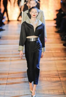 Yves Saint Laurent Fall 2012 Runway Review