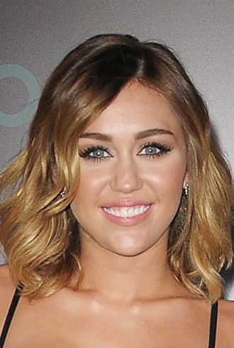 Miley Cyrus World Premiere of The Hunger Games Los Angeles cropped