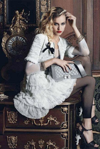 Alice Dellal Boy Chanel