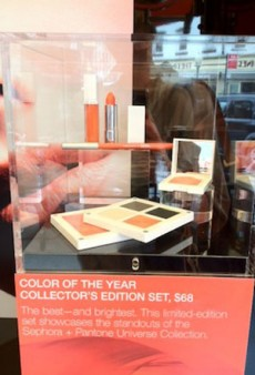 Sephora and Pantone NYC Pop-Up Shop Celebrates Tangerine
