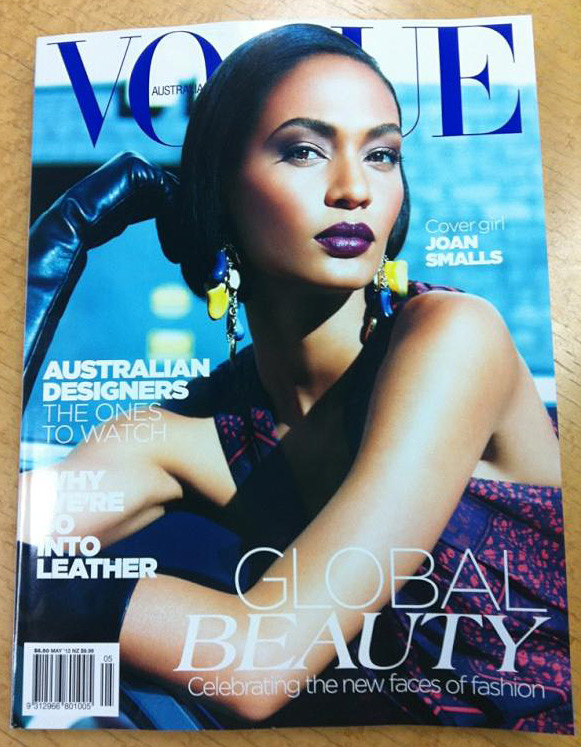 Joan Smalls - Vogue Australia May 2012