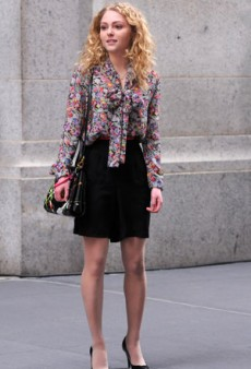 Twitterati #Fashion Recap: Carrie Diaries Revealed, Haider Ackermann Fuels the Dior Fire, and More