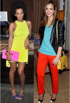 Get the Celeb Look: Color Blocking
