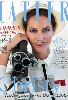 Tatler Achieves the Impossible: Creates a Bad Christy Turlington Cover (Forum Buzz)
