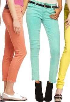 How To Wear Pastel Colored Denim
