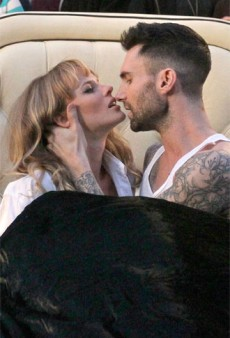 Anne Vyalitsyna and Adam Levine Are Totally Over