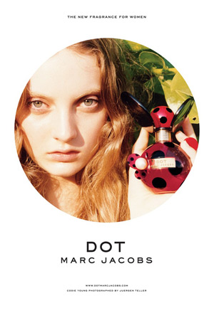 Marc Jacobs Dot - Codie Young by Juergen Teller