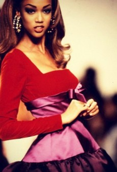 Tyra Banks' Fashion Flashback and Other Celeb Twitpics of the Week