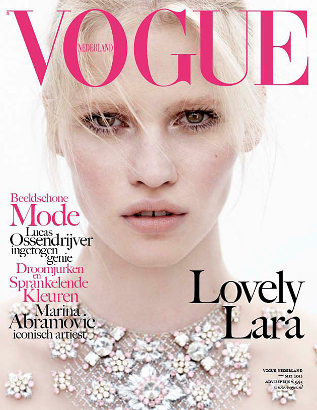 Vogue Netherlands - Lara Stone by Josh Olins