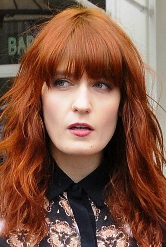 Florence Welch interviewed on the streets of New York City cropped