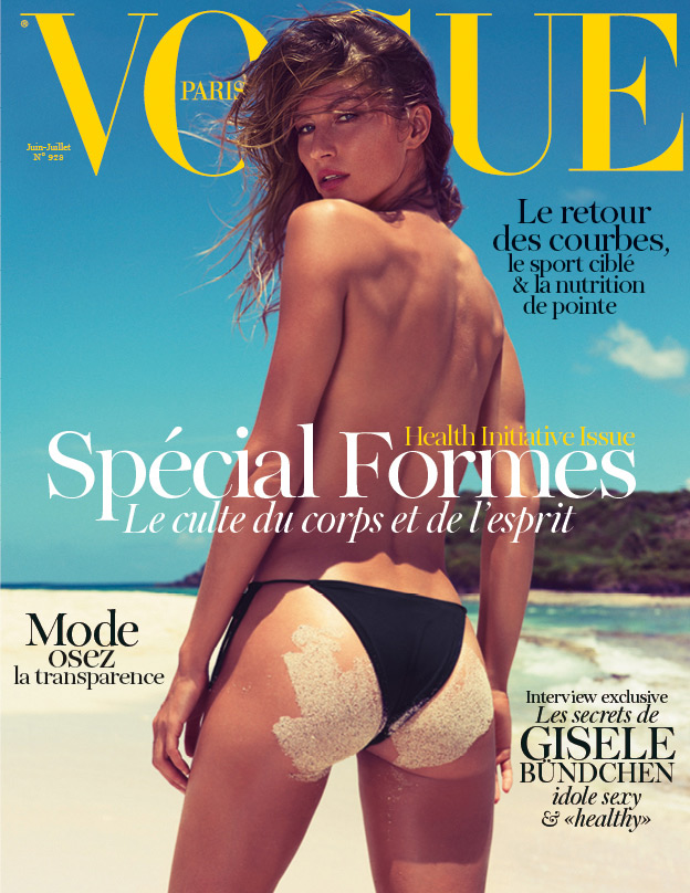 Vogue Paris June-July 2012 - Gisele Bundchen by Inez & Vinoodh