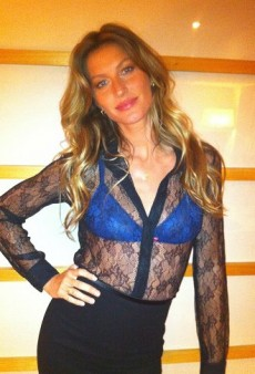 Gisele Launches a Lingerie Line and Other Celeb Twitpics of the Week
