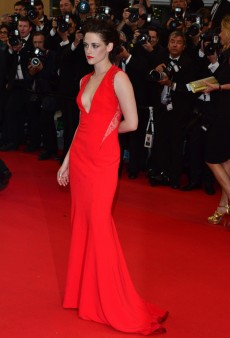 Kristen Stewart was Red Hot in Reem Acra at the Cannes Film Festival (Forum Buzz)