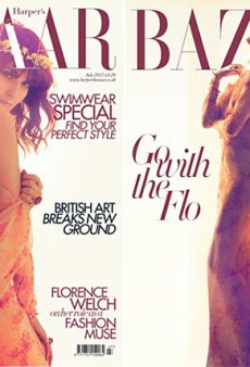 An Ethereal Florence Welch Covers Harper's Bazaar UK (Forum Buzz)