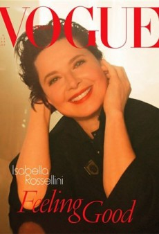 Isabella Rossellini's Vogue Italia Cover Disappoints (Forum Buzz)