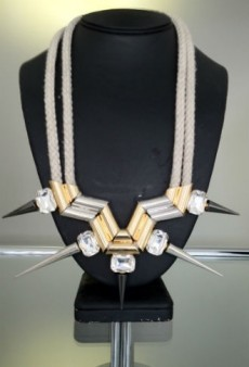 Peek at nOir Jewelry's Spike-Happy Holiday 2012 Collection