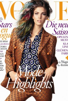 Can Kendra Spears' Beautiful Face Redeem Vogue Germany's July Cover? (Forum Buzz)