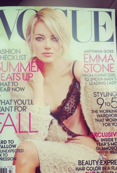 The Sultry Emma Stone Snags Vogue's July Cover (Forum Buzz)