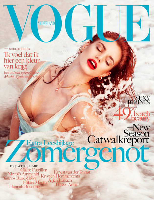 Vogue Netherlands July/August cover - Rianne ten Haken