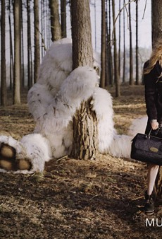 The Wild Things are With Lindsey Wixson in Mulberry's Fall 2012 Campaign (Forum Buzz)
