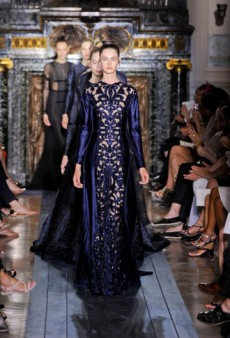 Valentino Haute Couture Fall 2012: Religious Undertones Pervade the Evening-Focused Collection