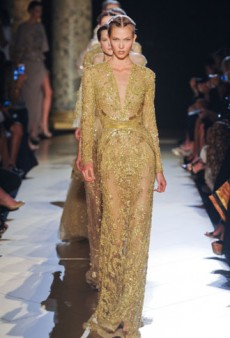 Spot-On Red Carpet Confections from Elie Saab Haute Couture Fall 2012