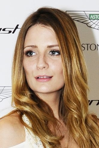 Mischa Barton Aston Martin Vanquish launch London cropped