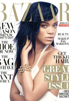 Rihanna Does Her Thing on the Cover of Harper's Bazaar