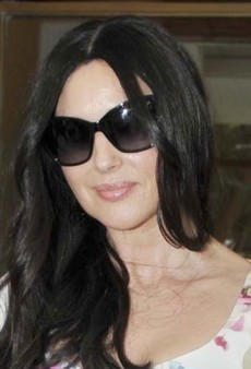 Look of the Day: Monica Bellucci's Fresh Floral Dolce & Gabbana Ensemble