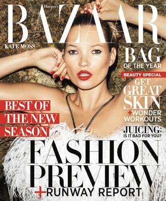 Kate Moss Bazaar