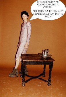 If Ads Could Talk: Stella Tennant by Juergen Teller for Vivienne Westwood