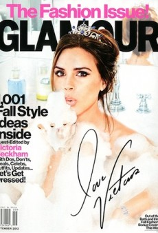 Victoria Beckham Takes a Guest-Editing Gig at Glamour