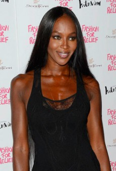 Look of the Day: Naomi Campbell Recycles Roberto Cavalli Spring 2012 Gown
