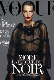 Vogue Paris Features Three Supermodels and a Redesign for September Issue (Forum Buzz)