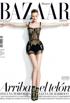 Harper's Bazaar Spain's September Issue is Their Version of a Fashion Bible (Forum Buzz)