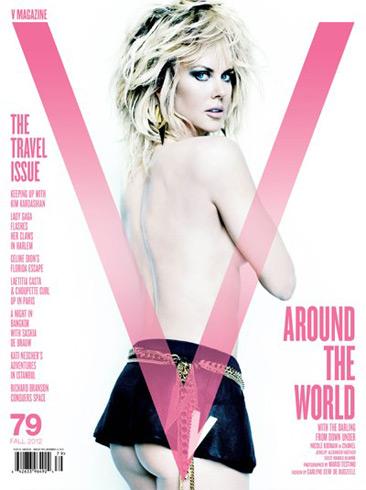 V Fall 2012 - Nicole Kidman by Mario Testino