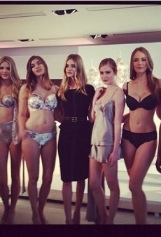 Rosie Huntington-Whiteley Launches Her Lingerie Line and Other Celeb Twitpics of the Week